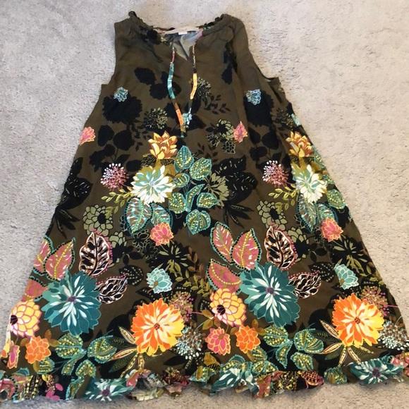 LOFT Dresses & Skirts - Floral mini dress
